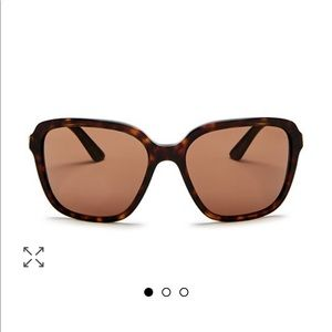 Prada women's square sunglasses 58 mm